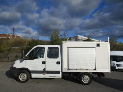 begagnad Iveco Daily Chassis 2.3 JTD / Dubbelhytt
