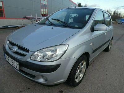 begagnad Hyundai Getz 5-dörrar 1.5 CRDi 2006, Halvkombi Pris 15 900 kr