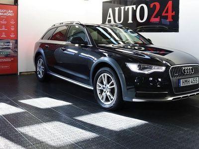 begagnad Audi A6 Allroad Soltak Skinn Drag Privacy Gla -14