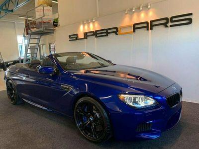 begagnad BMW M6 Cabriolet DCT 560hk San Marino Blue MAX UTR