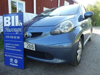 begagnad Toyota Aygo 5D AC/MVG/ÅRSSK 360:-/FINANS/INBY