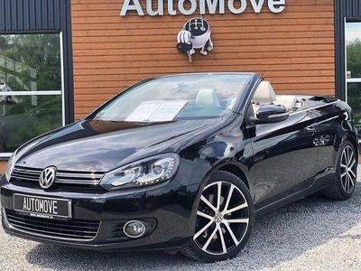 begagnad VW Golf Cabriolet TSI DSG Sekventiell
