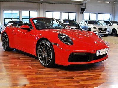 begagnad Porsche 911 Carrera Cabriolet 992 PDK 385hk