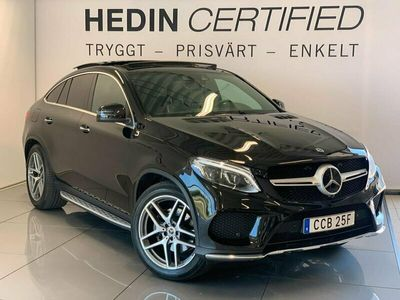 begagnad Mercedes GLE350 - Benzd 4MATIC Coupé Värmare Panorama Navi Drag