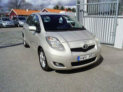 begagnad Toyota Yaris 1.33 VVT-i PLUS NY BESIKTIGAD 2011, Halvkombi Pris 39 900 kr