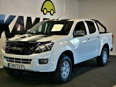 begagnad Isuzu D-Max Crew Cab 2.5 4WD Manuell, 163hk, 2015