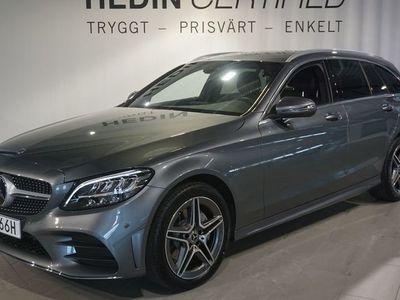 begagnad Mercedes C220 D 4-MATIC KOMBI AMG LINE/Demobil