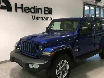 begagnad Jeep Wrangler 2.0T GME SAHARA 8ATX MY18
