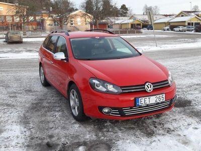 begagnad VW Golf 1.6 TDI,Aut / Navi / Xenon -11