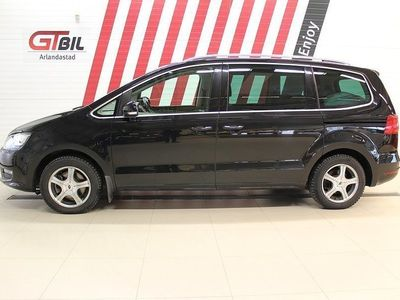 begagnad VW Sharan 2.0 Premium 7-sits Panorama 140hk