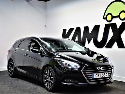 begagnad Hyundai i40 1,7 crdi Premium plus Nya modellen Aut. GPS