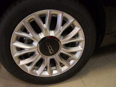 begagnad Fiat 500 1,2 Lounge Cabriolet 69Hk Automat