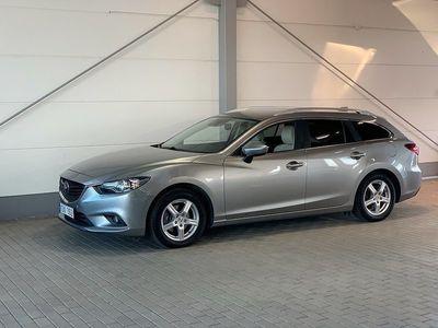 begagnad Mazda 6 Wagon, 2.2 D Optimum Automat 175hk