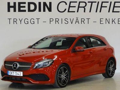 begagnad Mercedes 180 A-KlassAut-7G Amg Värmare Carplay Backkamera