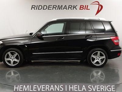 begagnad Mercedes GLK220 CDI 4M BE 4MATIC 170hk Nyservad