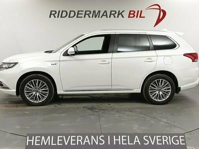 begagnad Mitsubishi Outlander P-HEV 2.4 Hybrid 4WD EU6 360 Kam 2019, SUV Pris 308 900 kr