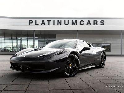 begagnad Ferrari 458 Italia F1 / Carbon Racing Package / Sv.såld