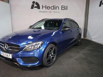 brugt Mercedes C220 D 4MATIC Kombi AMG Paket / Automat / Night paket