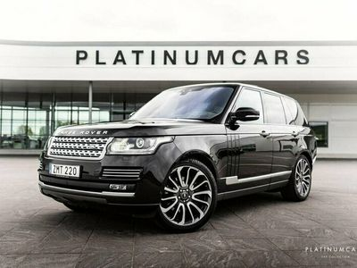 begagnad Land Rover Range Rover 4.4 SDV8 AWD 340hk / Autobiography