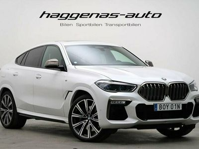 begagnad BMW X6 M50i / 530hk / Innovation / Drag