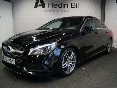 begagnad Mercedes CLA180 Automat AMG Paket / Panoramglastak