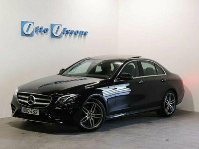 begagnad Mercedes E220 AMG Sedan Premium Aut, Nav, Panorama, Drag