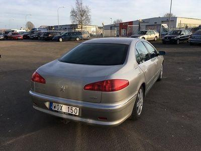 begagnad Peugeot 607 2.2 drag lågmil skinn ny bes välvårdad