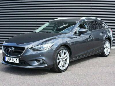 begagnad Mazda 6 6 Wagon Optimum Automat Euro175hk