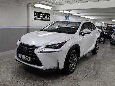begagnad Lexus NX300h EXECUTIVE GPS PEARL