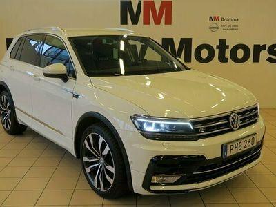 begagnad VW Tiguan 2.0 TDI SCR R-LINE 4X4 Executive VÄRMARE 2017, SUV Pris 279 900 kr