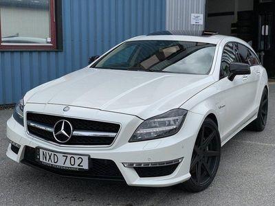 begagnad Mercedes CLS63 AMG AMG 4-MATIC 557HK SVENSK