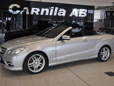 gebraucht Mercedes 350 E-KLASSCDI Cabriolet BlueEFFICIENCY 7G-Tronic AMG Sport 231hk