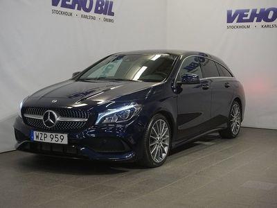 begagnad Mercedes CLA220 Shooting Brake d AMG Backkamera Drag Nav
