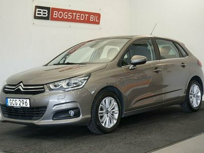 begagnad Citroën C4 1.6 HDi 120hk, Drag, Panorama, Navigation