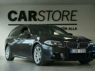 begagnad BMW 530 d M-sport Drag Head-up Skinn El-stol Nav professional