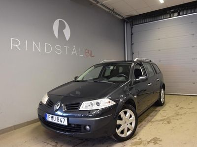 begagnad Renault Mégane Kombi 1.6 105 HK KAMREM BYTT