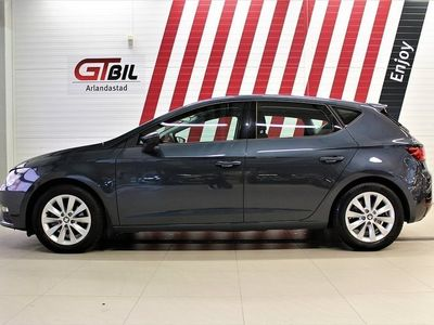 begagnad Seat Leon 1,95% SOMMARKAMPANJ! 1,0 TSI 115 DSG7 Style *Aut, Apple Car