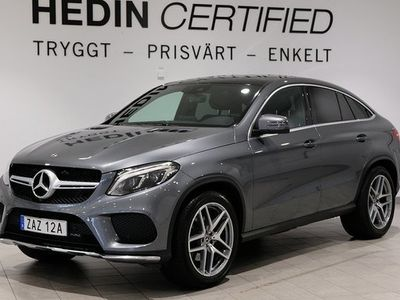 begagnad Mercedes 350 GLE Benzd 4MATIC Coupé Amg-Line Värmare 2019, SUV 599 000 kr