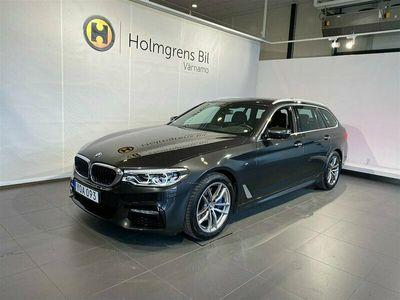 begagnad BMW 530 i xDrive Touring M-Sport Komfortstol Panorama H K Drag