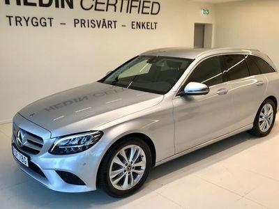 begagnad Mercedes 200 C-KlassAvantgarde, Drag, Backkamera, Navi