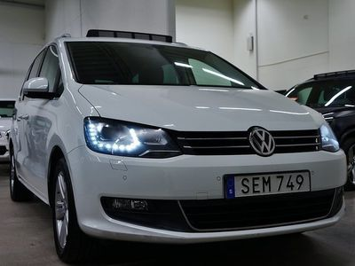 begagnad VW Sharan TDI Premium,7-sits Panorama D-Värmare Drag 150hk