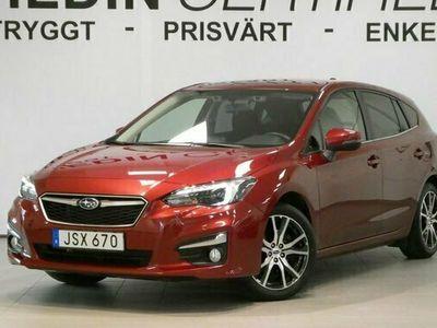 begagnad Subaru Impreza 1.6i 4WD Active Aut V-hjul 2018, Personbil Pris 169 900 kr