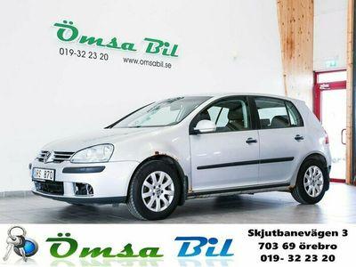 begagnad VW Golf 5-dörrar 2.0 TDI 140hk Besiktningstvåor