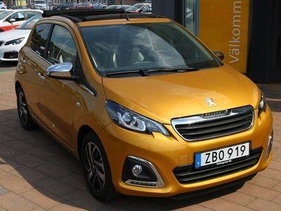 begagnad Peugeot 108 5D TOP! ALLURE PureTech 82