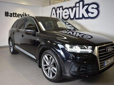 begagnad Audi Q7 TDI 272hk Tiptro S-line/Evo/Luft