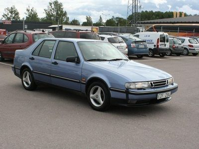 käytetty Saab 9000 CS 2.0 Turbo 150hk Ny Besikt Välvård