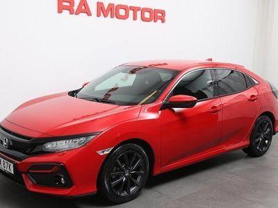begagnad Honda Civic 5-dörrar Elegance 1.0 CVT 2020, Halvkombi 239 900 kr