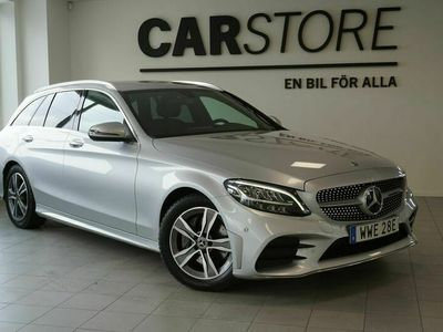 begagnad Mercedes 200 C-KlassT d 9G-Tronic AMG Line Navi Drag