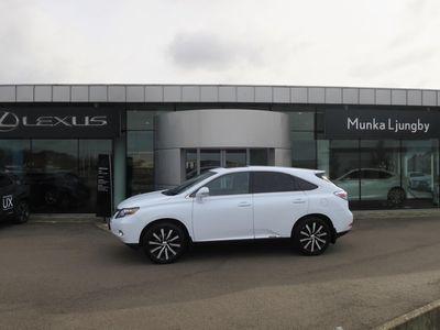 begagnad Lexus RX450h AWD Comfort Sollucka Drag