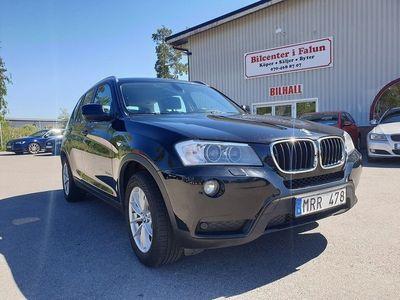 begagnad BMW X3 xDrive20d/184hk/Dragkrok/0:-KONT/Svensksåld